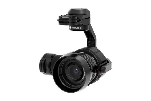 Cámara DJI X5, cámara visual y cámara térmica. Equipos profesionales de Dron y Cámaras para distintos usos de SG drones.