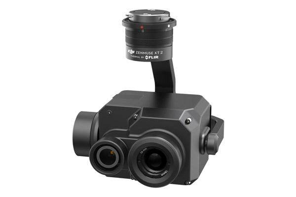 Camara Zenmuse DJI XT2, cámara visual y cámara térmica. Equipos profesionales de Dron y Cámaras para distintos usos de SG drones.