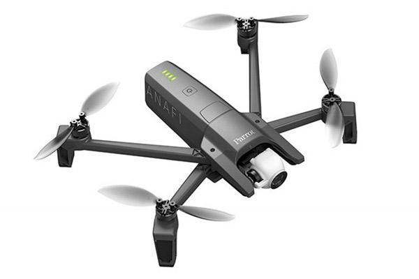 Dron Parrot Anafi. Equipos profesionales de Dron y Cámaras para distintos usos de SG drones.