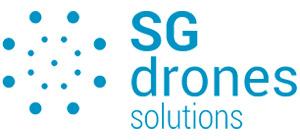 Logotipo de SG drones - Soluciones con drones. Inspecciones técnicas con dron