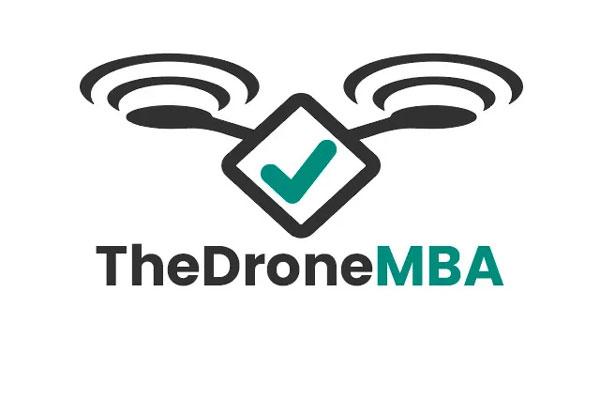 Logo formación The Drone MBA. Formación como piloto de drones. Piloto de dron